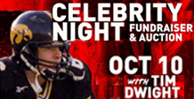 Tim Dwight to appear at Celebrity Night on Oct 10, 2019