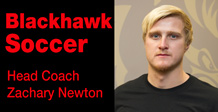 Head Soccer Coach Zachary Newton